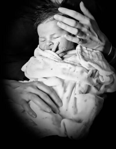 Shooting naissance par Justine Darmon
