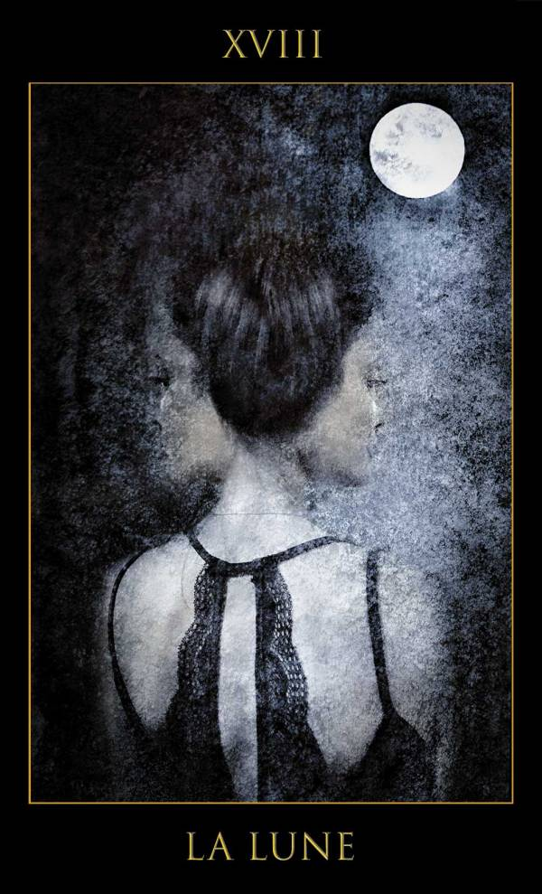 La Lune, jeux les lames de l'Âme par Justine Darmon