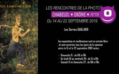 Les Rencontres de la photo 19 | 14 – 22 / 09 2019 | Chabeuil