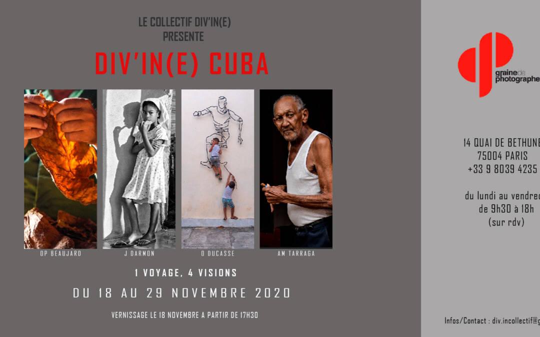 DIV'IN (E) CUBA | 18 au 29-11 2020 | Paris 4e