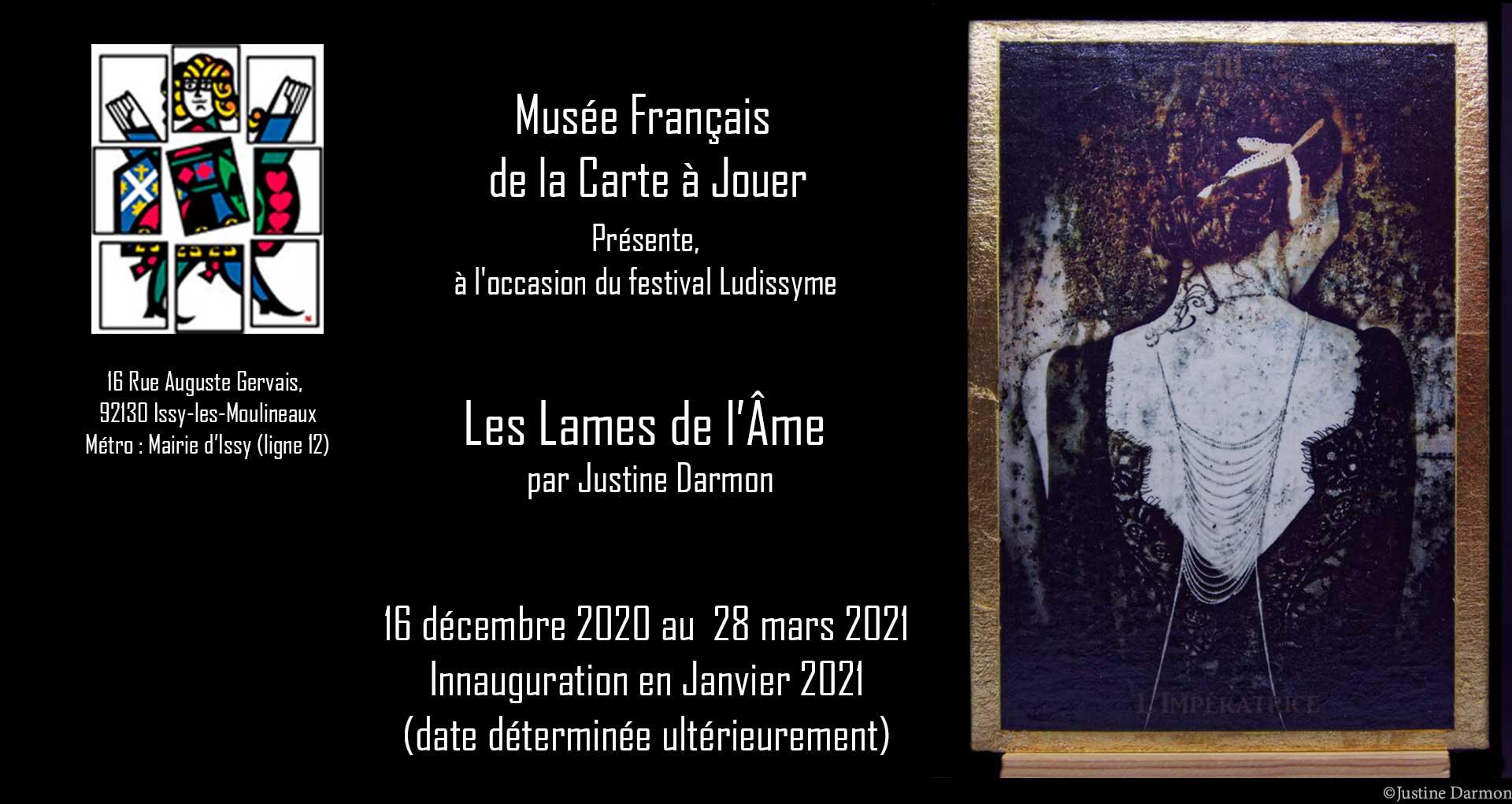 Série Les lames de LÂme par J darmon au Musée de la Carte à Jouer