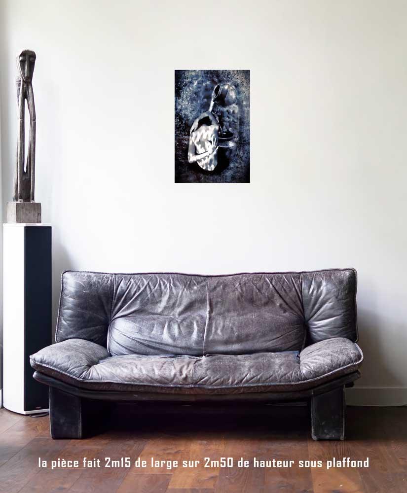 La Tempérance, 40 x 60 cm, série les lames de l'Âme par Justine Darmon