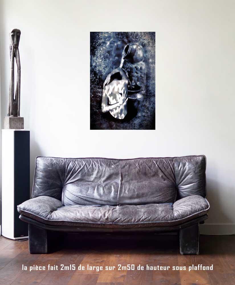 La Temprance, 60 x 90 cm, série les lames de l'Âme par Justine Darmon