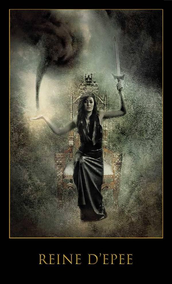 Reine d'épée -Jeu Les lames de l'Âme par Justine darmon