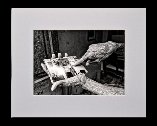 Les souvenirs, Série au delà des couleurs par Justine Darmon