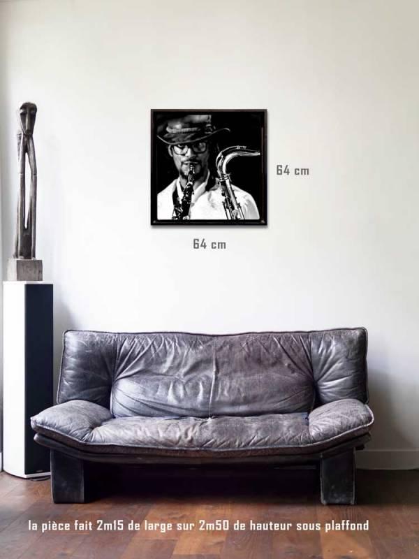 Bec de cygnetirages 60 x 60 us-box-Série Music Spirit par Justine Darmon