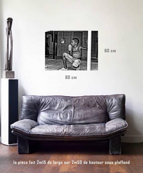 Concentration-tirage en situation-80 x 60- Cuba, au delà des couleurs par Justine Darmon