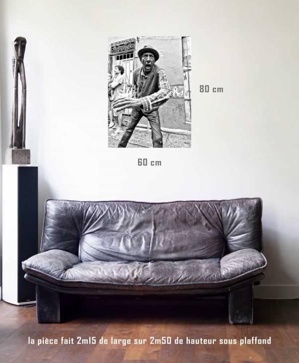 Décadence-tirage en situation-80 x 60- Cuba, au delà des couleurs par Justine Darmon