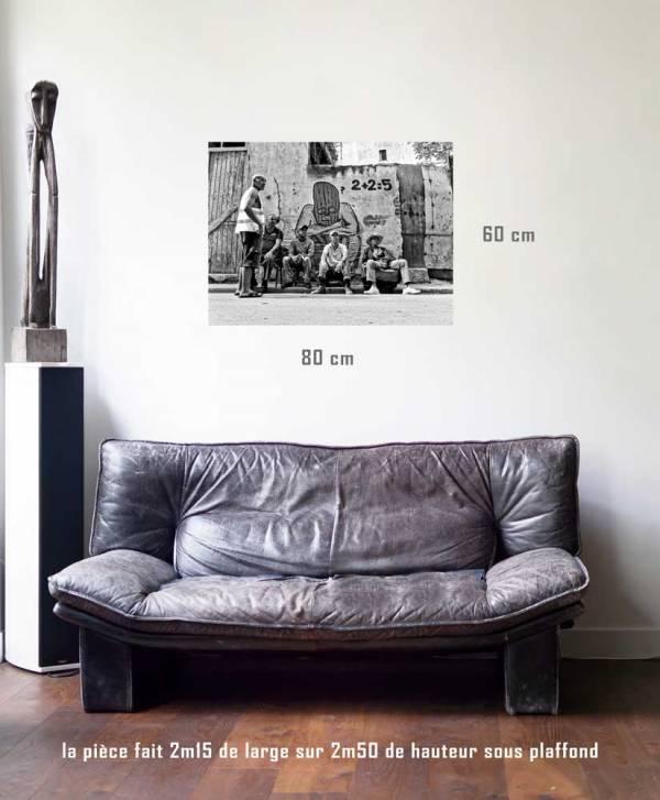 Deux et deux font cinq-tirage en situation-80 x 60- Cuba, au delà des couleurs par Justine Darmon