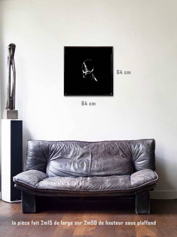 Envol tirages 60 x 60 us-box-Série Music Spirit par Justine Darmon