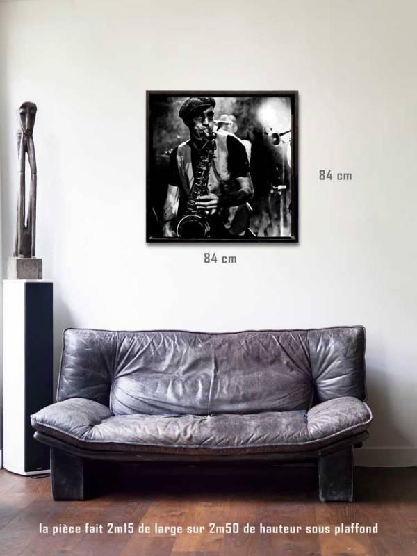La Gora tirages 80 x 80 us-box-Série Music Spirit par Justine Darmon