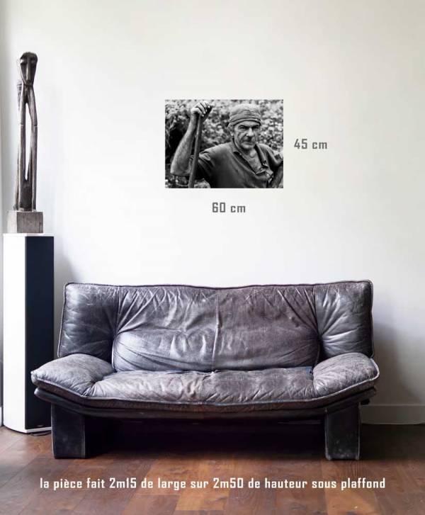 Le charbonnier-tirage en situation-45 x 60- Cuba, au delà des couleurs par Justine Darmon