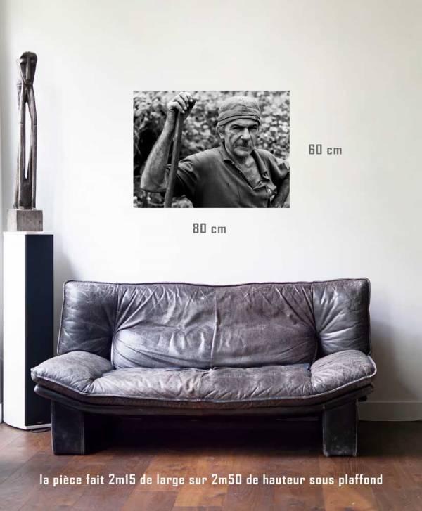 Le charbonnier -tirage en situation-80 x 60- Cuba, au delà des couleurs par Justine Darmon