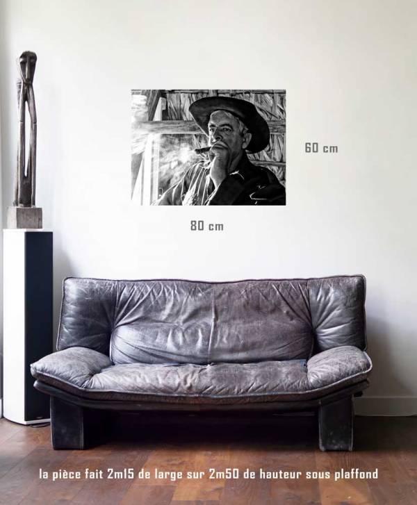 Le -tirage en situation-80 x 60- Cuba, au delà des couleurs par Justine Darmon