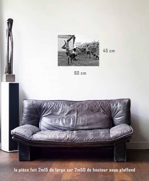 Les petits acrobates-tirage en situation-45 x 60- Cuba, au delà des couleurs par Justine Darmon