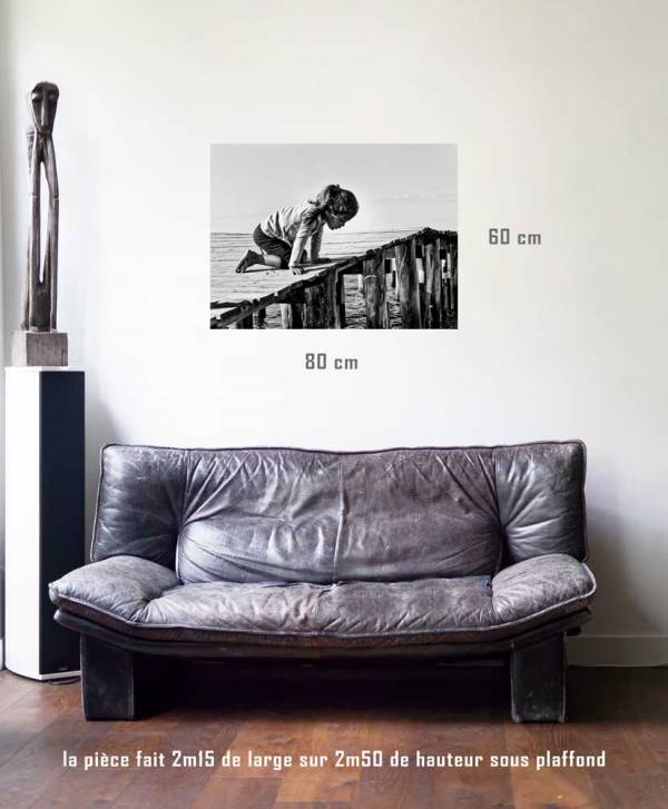 Profondeur-tirage en situation-80 x 60- Cuba, au delà des couleurs par Justine Darmon