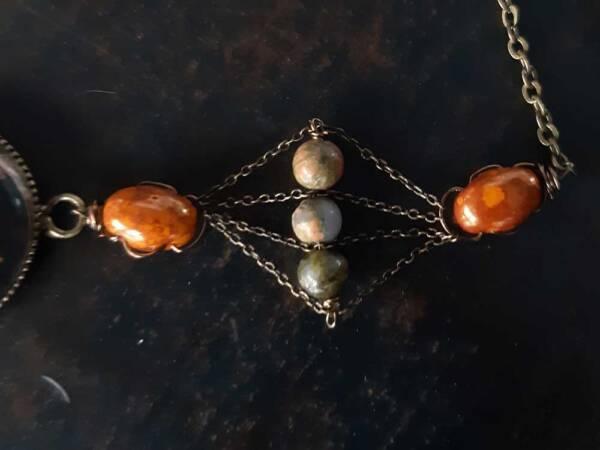 bracelet n2 détail des perles, les bijoux des lames du tarot