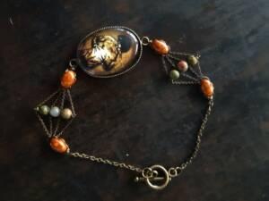 bracelet n2 à plat fermé, les bijoux des lames du tarot