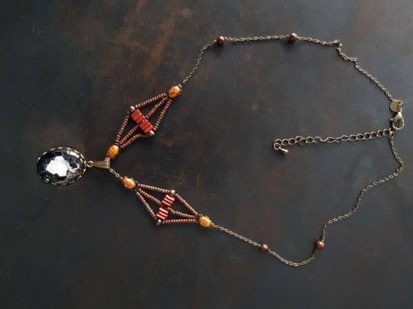 Collier n3 (petit pendentif), Les bijoux des lames du tarot par Justine Darmon