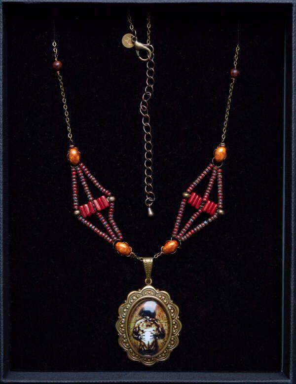 Collier n3, les bijoux des lames du tarot par Justine Darmon
